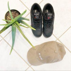 Reebok black princess sneakers
